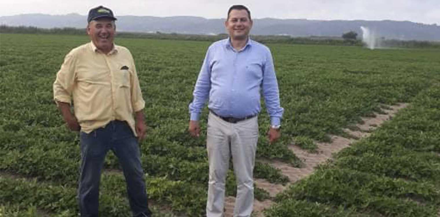 Θ. Βασιλόπουλος: Η φετινή παραγωγή στις καλλιέργειες φιστικιών στην πρώην λίμνη Αγουλινίτσας