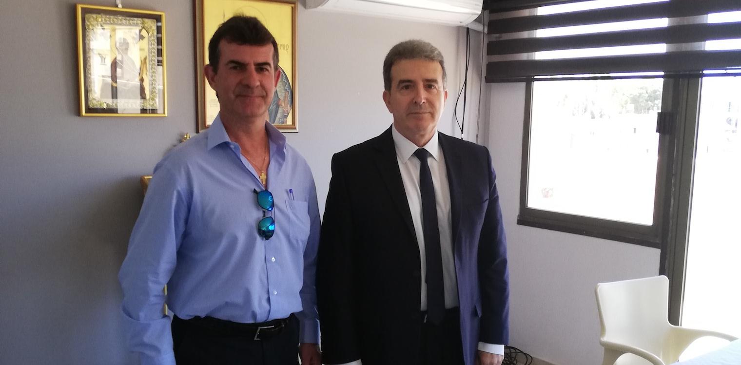 Συνάντηση Ζώντου με τον Υπ. Προστασίας του Πολίτη Μ. Χρυσοχοϊδη και τον Αρχηγό της ΕΛ.ΑΣ. Αντιστράτηγο κ. Καραμαλάκη στην Πάτρα