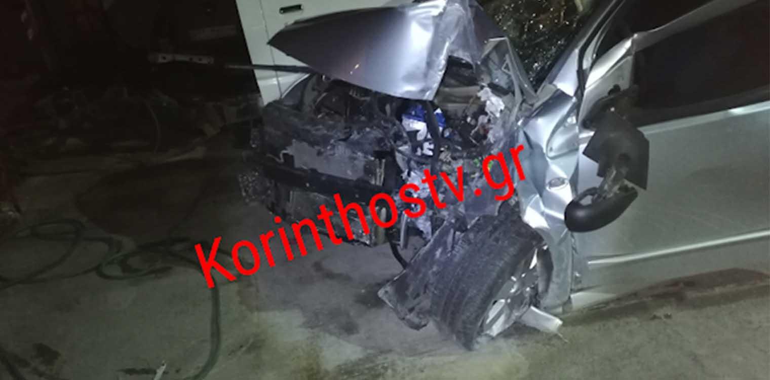 Τραγωδία στην εθνική Κορίνθου – Πατρών: 30χρονη σκοτώθηκε σε τροχαίο(ΦΩΤΟ)