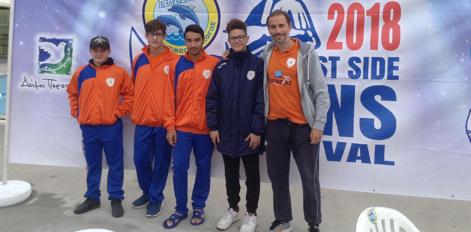 ad18a929335 Επειός/Τεχνική Κολύμβηση: Συμμετοχή σε διεθνές μίτινγκ στα Γιάννενα ...