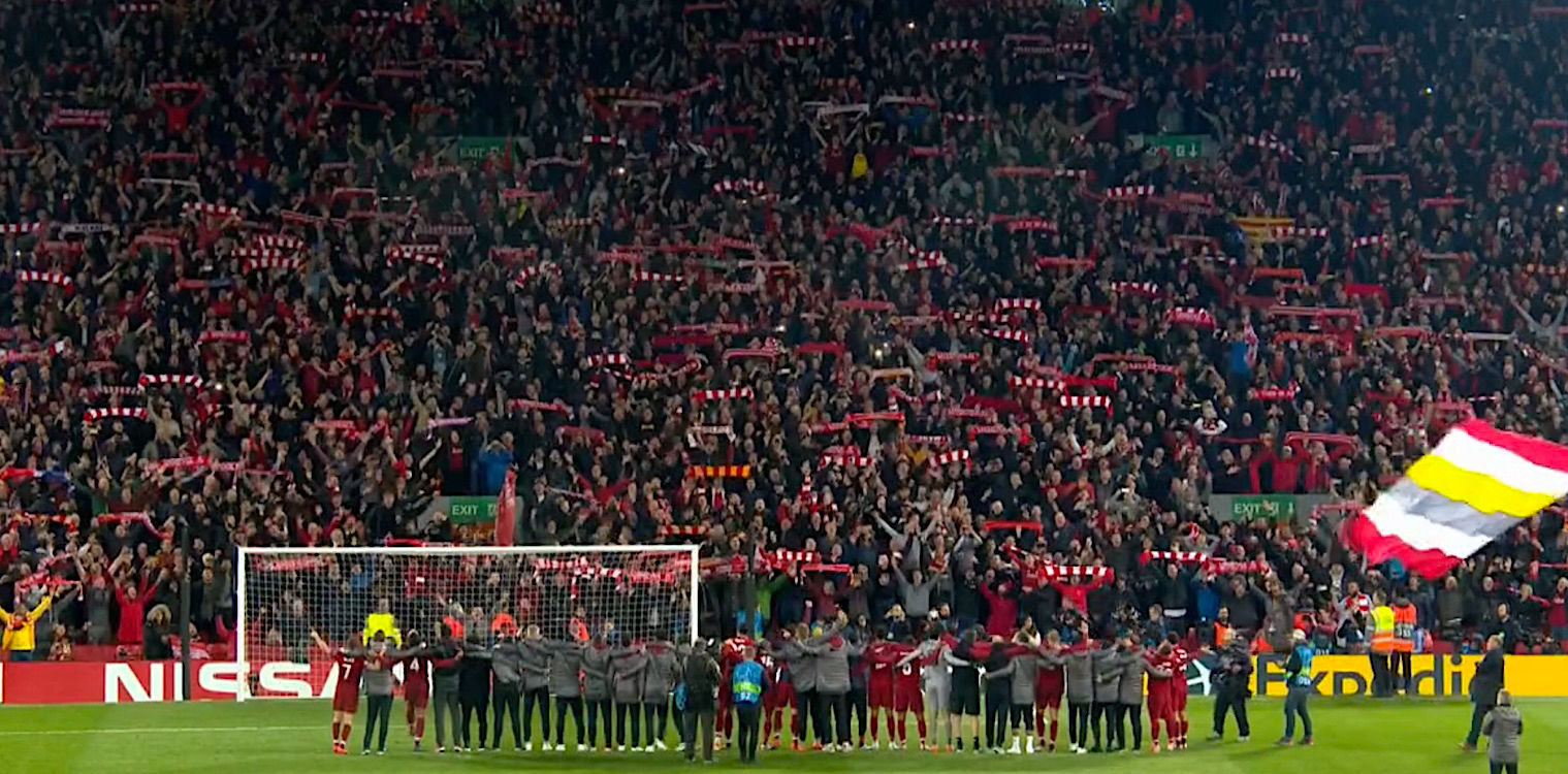 """This is Anfield"" - Η Λίβερπουλ στον τελικό του Champions League με την ανατροπή του αιώνα - 4-0 την Μπαρτσελόνα"