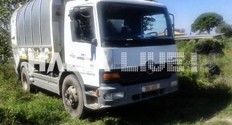 Μυρσίνη: Έκλεψαν μισό τόνο πετρέλαιο από τα απορριμματοφόρα του δήμου