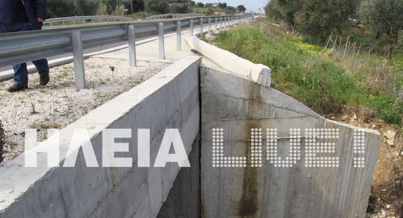 Βγάζει προβλήματα ο δρόμος Ανδραβίδας - Κυλλήνης