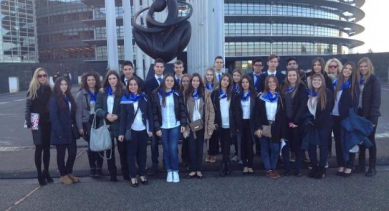 Δέκα Ηλείοι μαθητές στο Στρασβούργο!