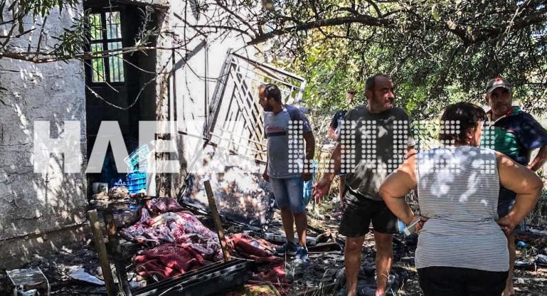 Γιαννιτσοχώρι Ζαχάρως: Παραλίγο να καεί ζωντανός 85χρονος από έκρηξη φιάλης
