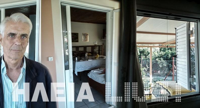 Ηλεία: Οι κλέφτες τους πήραν ακόμα και τις πόρτες