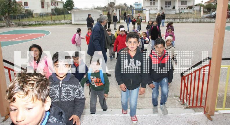 """Ηλεία: """"Κατάληψη"""" στο Δημοτικό Σχολείο Νεοχωρίου με αφορμή τα προσφυγόπουλα"""