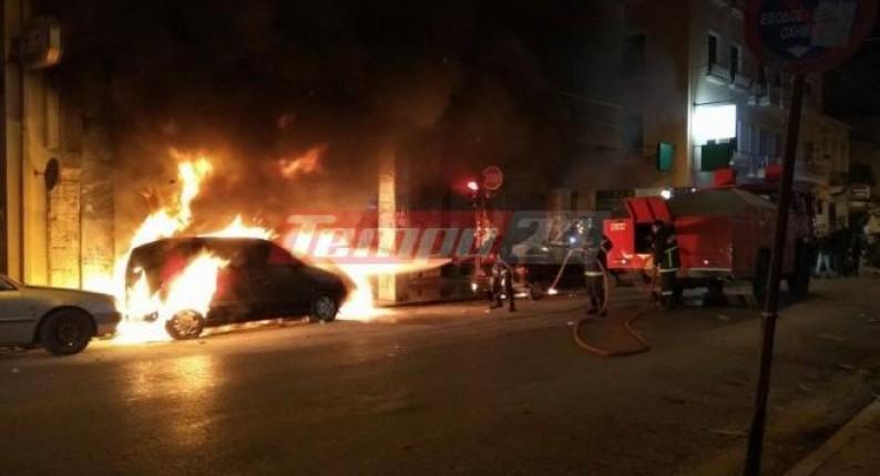 Πάτρα: Σοβαρά επεισόδια μετά την πορεία για το Πολυτεχνείο - Έσπασαν και έκαψαν το κέντρο της πόλης - Σε 40 προσαγωγές προχώρησε η ΕΛ.ΑΣ.