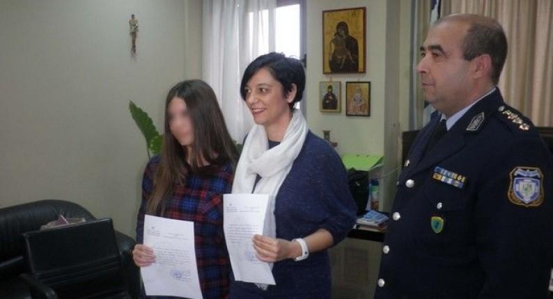 Μαθήτρια βρήκε πορτοφόλι με 3.500 ευρώ και το παρέδωσε