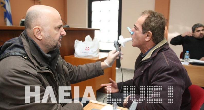 Δωρεάν σπιρομετρήσεις στην Κυλλήνη στις 6 Δεκεμβρίου