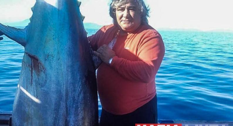 """Ηλεία: 226 κιλά τόνο """"έβγαλε"""" ο κάπτεν Αρίστος . . ."""